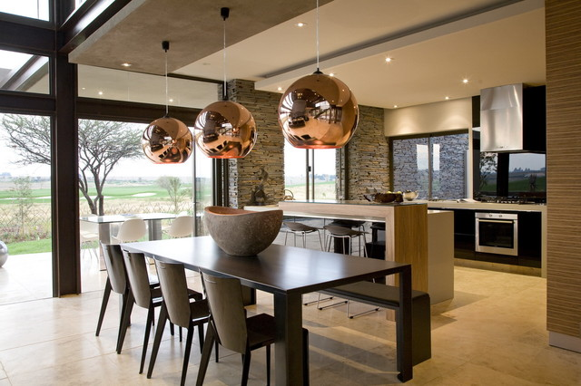 Serengeti House Contemporary Dining Room By Nico Van