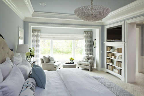 Parkwood Road Residence Master Bedroom