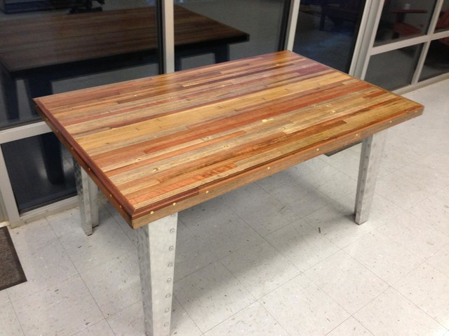 Redwood Reclaimed Wood Dining Table