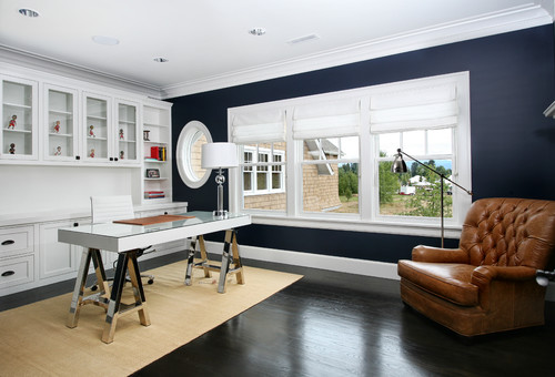 BM Hale Navy looks amazing in almost any room