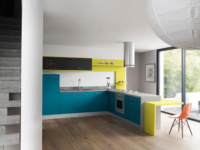 sublimez votre cuisine avec du bleu