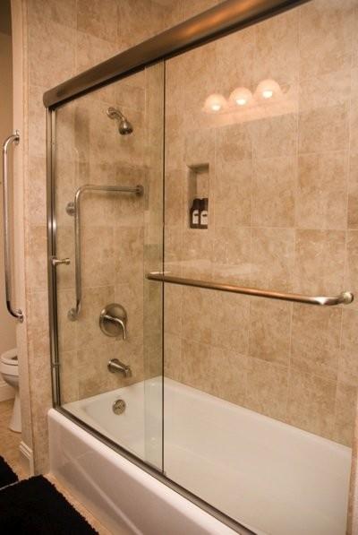 Euro Style Bypass Bathtub Enclosure Bathroom Sacramento By Superior Shower Door Amp More Inc