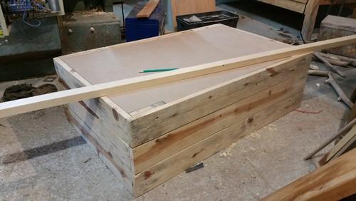 Table Basse Fait Maison De Palettes Et Bois Flott