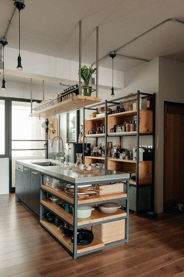 Industrial Kitchen Ideas Home Shreenad Home