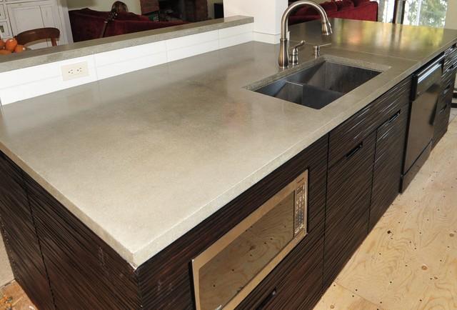 Hand Cast Concrete Countertops