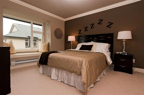 Furniture Wall Paint With Dark Brown Bedroom Colors What Color Walls Go