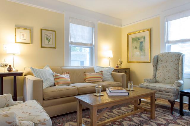 Cape Cod Beach House Remodel Beach Style Living Room Boston By Hammond Design