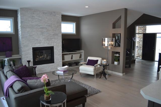 Beau Houzz Grey Living Rooms Thecreativescientist Com