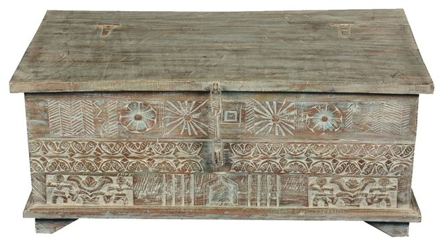bennet story on a wall reclaimed wood primitive coffee table chest