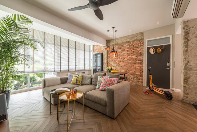 Loft Vibe At Joo Chiat Walk Up Apartment