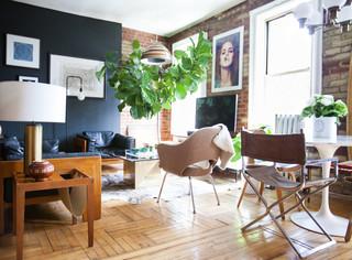 My Houzz: Gentlemen's Club-Meets-Treehouse Style in Brooklyn インダストリアル-リビング