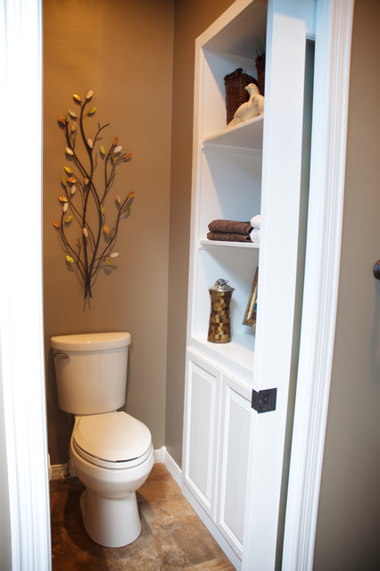 master bathroom & closet remodel - transitional - bathroom - other