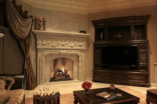Italian Fireplace Mantels Styles Victorian Oklahoma