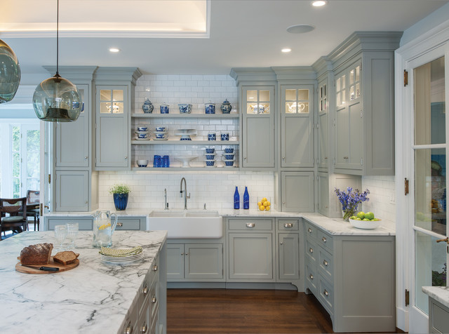 Contemporary Kitchen In Ellie Gray Contemporary