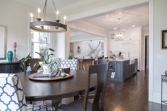 Open Dining Kitchen Build Cure Home 2015 Davidson