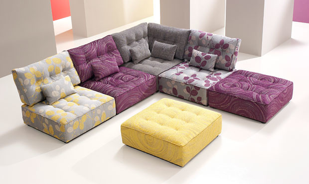Alice Modular Fabric Sofa : multi piece sectional sofa - Sectionals, Sofas & Couches