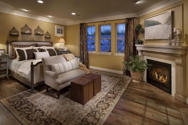 The Overlook At Heritage Hills Mediterranean Bedroom