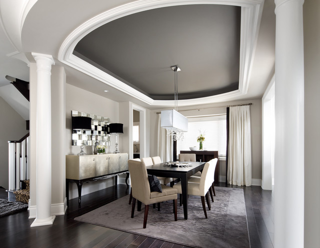 Jane Lockhart Interior Design   Fusion   Dining Room   Toronto   by     Jane Lockhart Interior Design fusion dining room