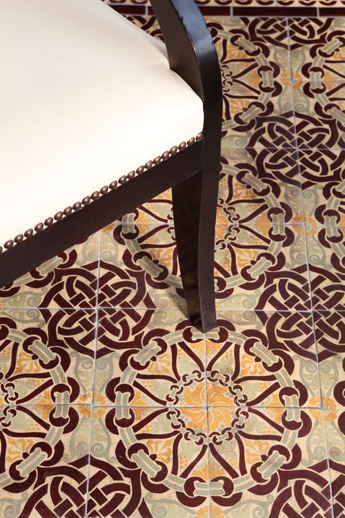 Cement Tile - 2017s Tile Trend!