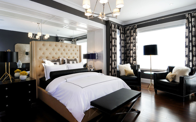 2011 HHL Master Bedroom 2 contemporary-bedroom