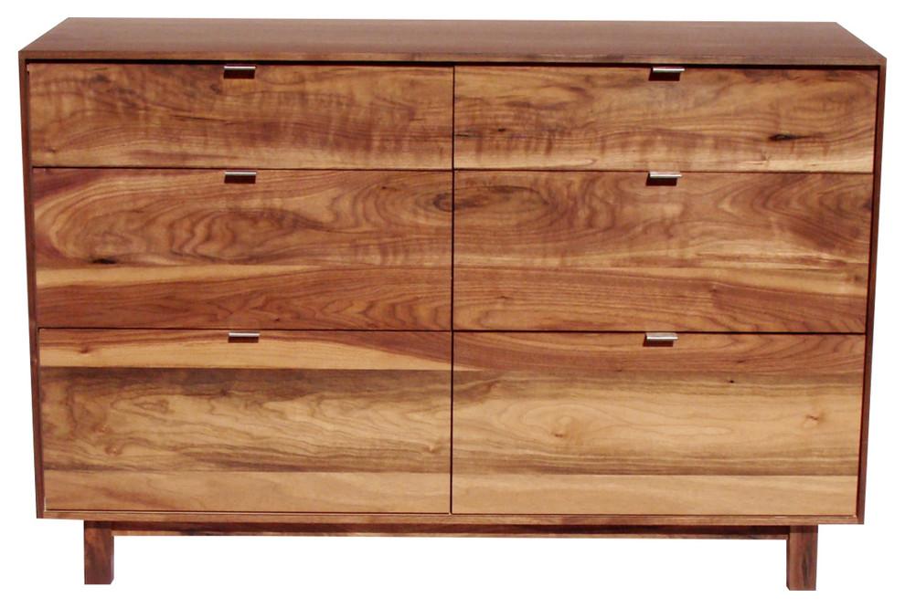 midcentury modern walnut dresser