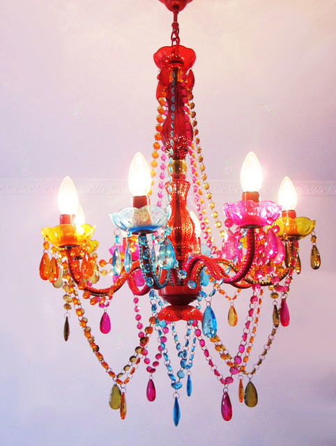 Colored Mini Pendant Lights