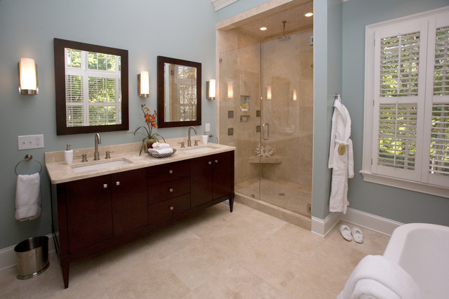 spa bathroom - traditional - bathroom - charlotte - by loftus