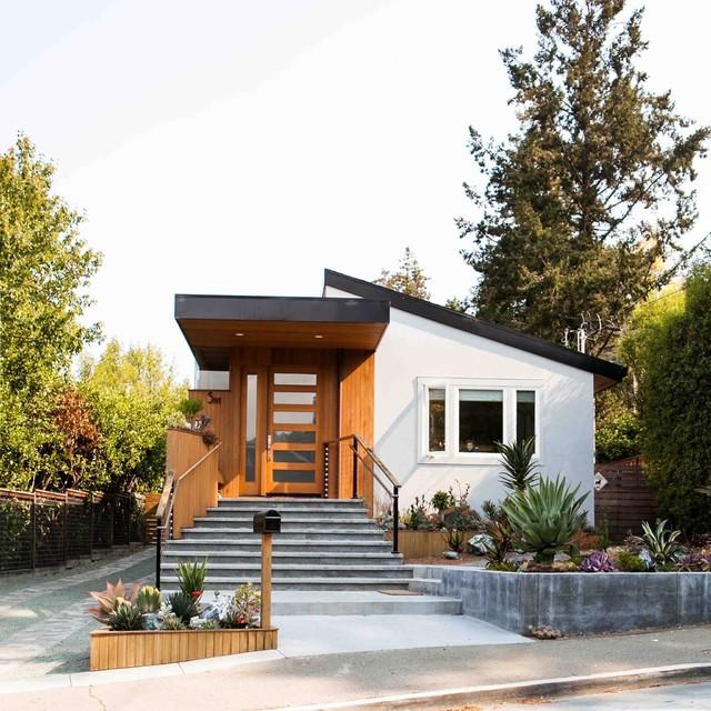 Modern Bungalow - Contemporary - Exterior - San Francisco ...