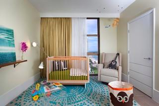 DKOR Interiors - Interior Designers Miami - Modern - Sophisticated Getaway modern-nursery