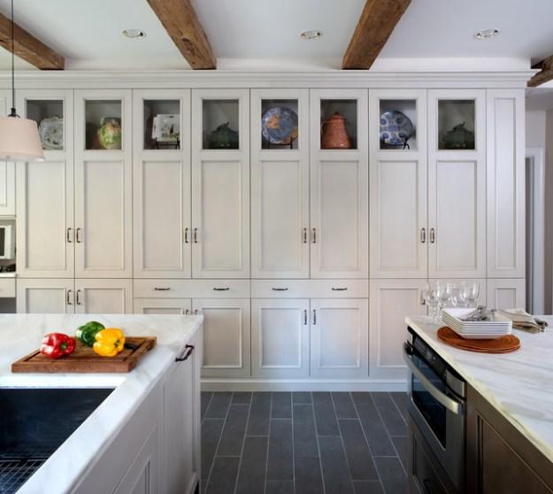 grey country kitchen - traditional - kitchen - dc metro -jack