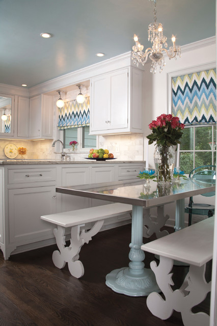 Young at Heart, Traditional Kitchen Renovation transitional-kitchen