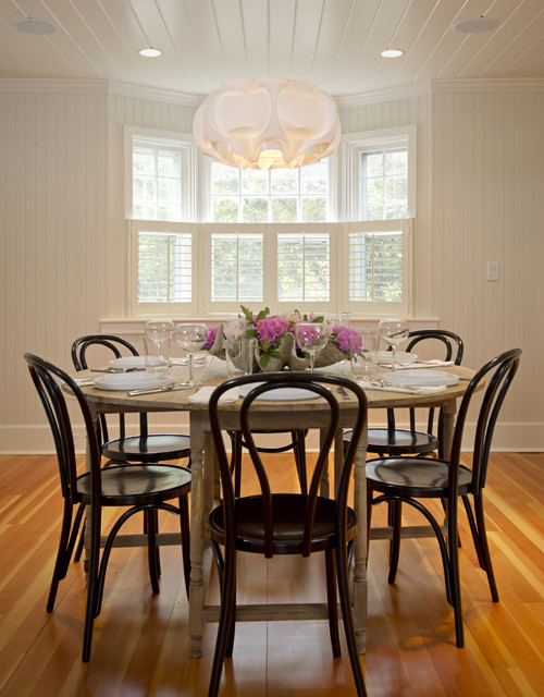 Martha's Vineyard Dining Room rustic-dining-room