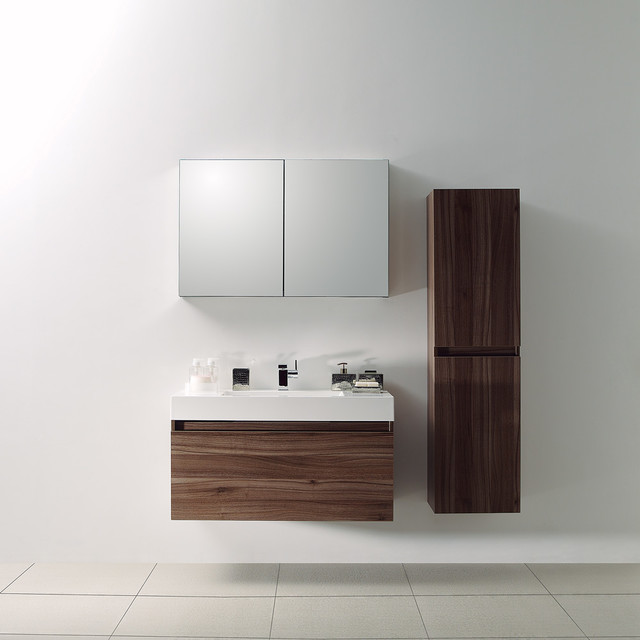 serif white gloss wall hung bathroom vanity unit mm main image: bathroom vanity unit units sink cabinets