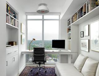 One Bedford Condo Suite 北欧-ホームオフィス書斎