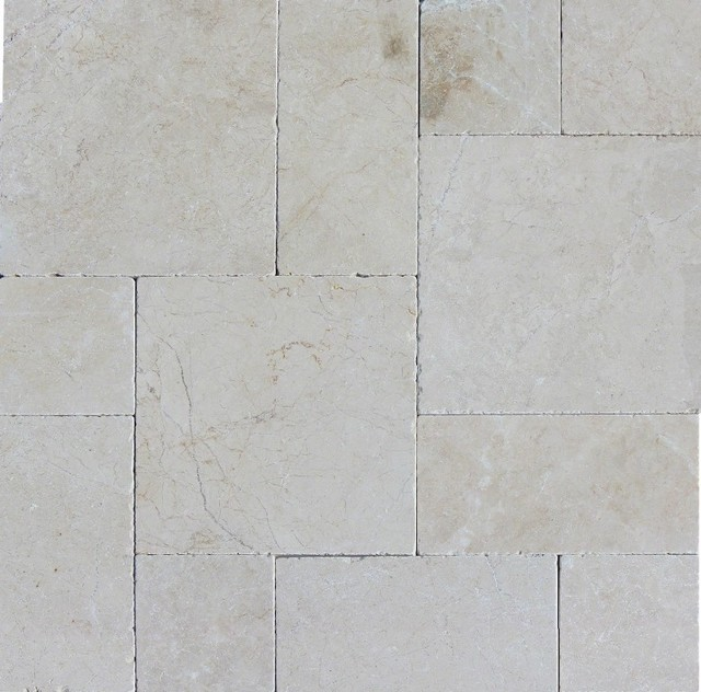 french pattern tumbled tile aegean pearl 2 pallets 160 sq ft pallet