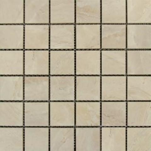 glazed onyx sand porcelain tile chip size 2 x2 cream beige sample