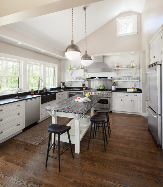Cape Porpoise Residence transitional-kitchen