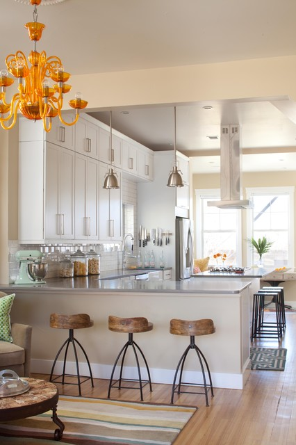 Lo-Hi Residence transitional-kitchen