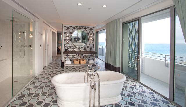 SOHO BEACH HOUSE Modern Bathroom Miami By SHULMAN