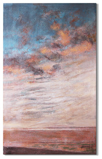 """Sunset Beach"" Magari Art Piece"
