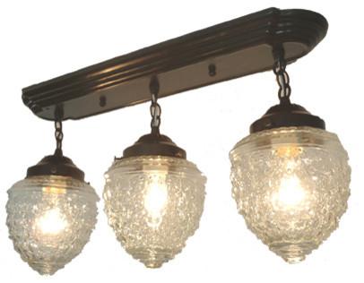 island falls ceiling light rectangular trio oil rubbed bronze
