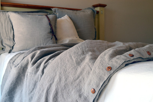 All About Linen Bedding & Sources