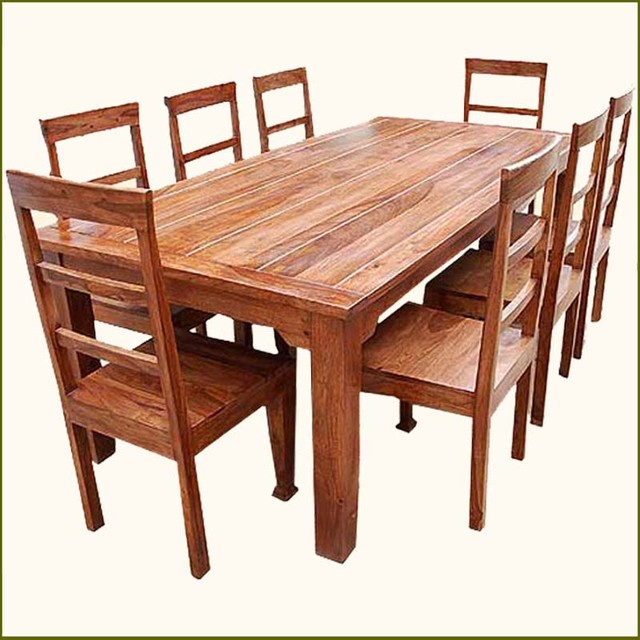 Rustic Table And Chairs Set
