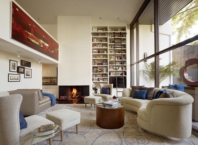 Menlo Park Townhouse Living Room