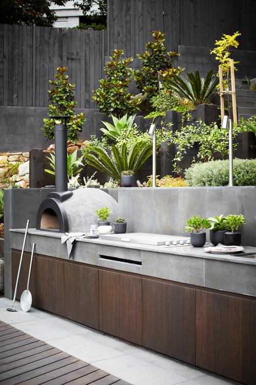 unique outdoor bbq island design ideas