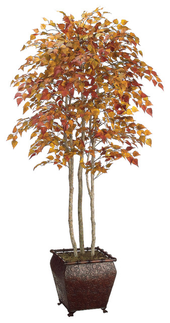 Silk Plants Direct North American Birch Tree Pack Of 1 Traditional Artificial Flowers