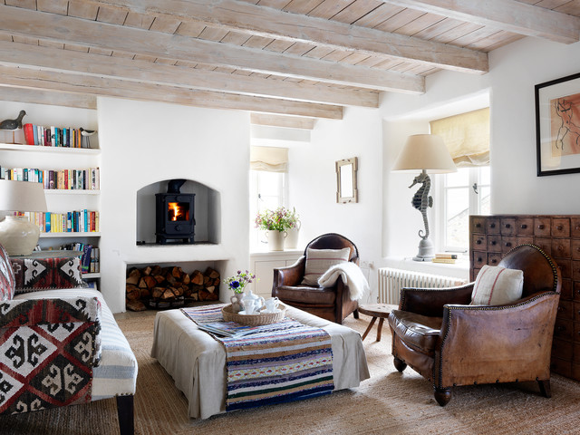 Houzz Tour Period Style And Modern Comfort In A Cornish Cottage Houzz Uk