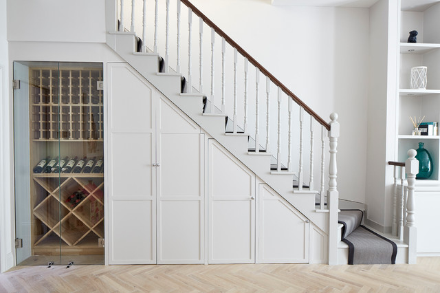 Bramfield Road transitional-staircase