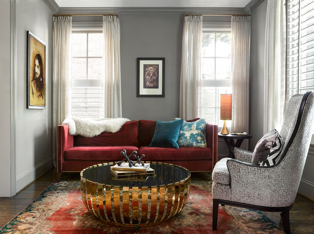 Livable Luxury traditional-living-room