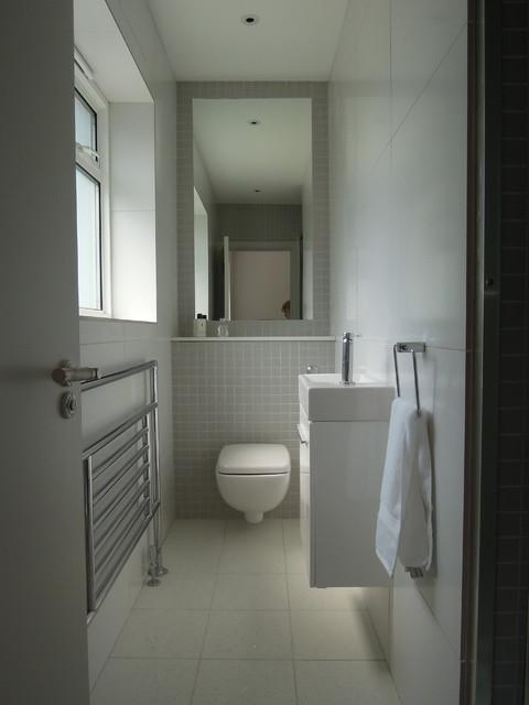 Small Bathrooms Modern Bathroom London By Slightly